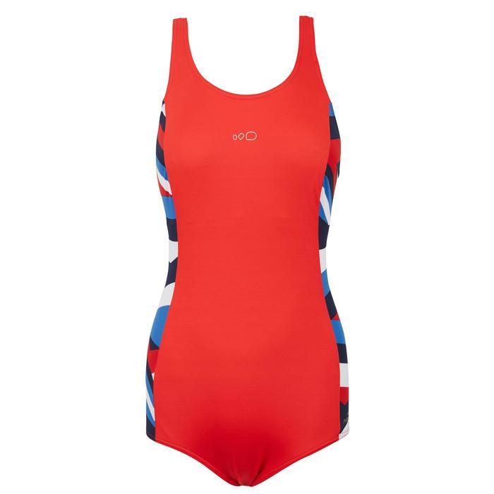 Vega Women's One Piece Swimsuit Cros Red
