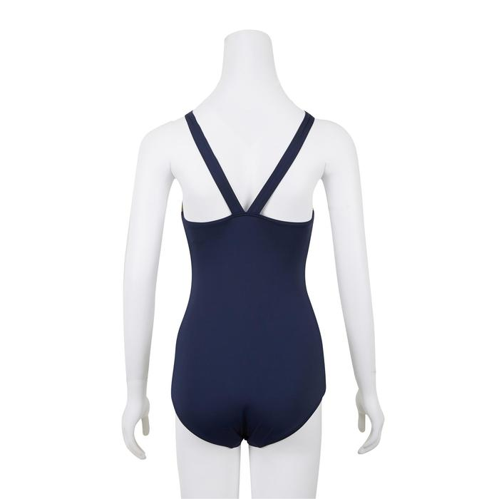 Vega Women's One-Piece Swimsuit - Blue Gold