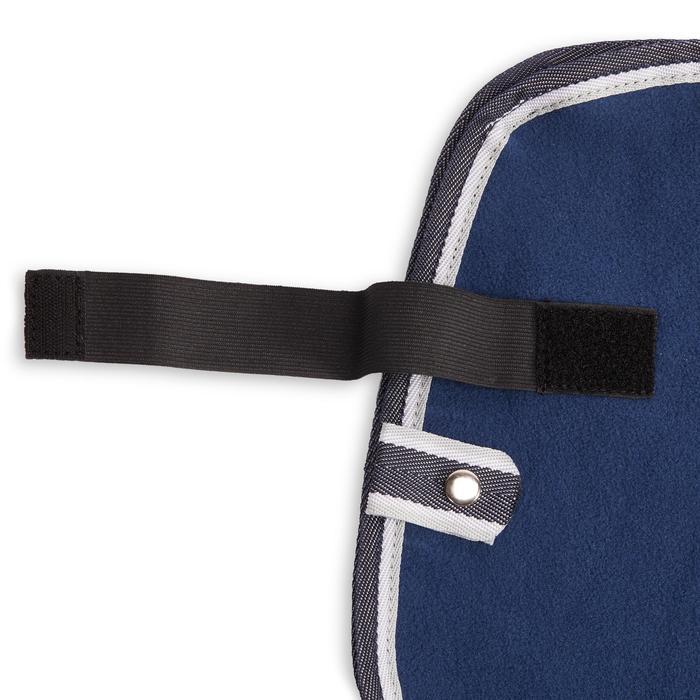 Manta Riñonera Equitación Fouganza POLAR 560 azul Caballo