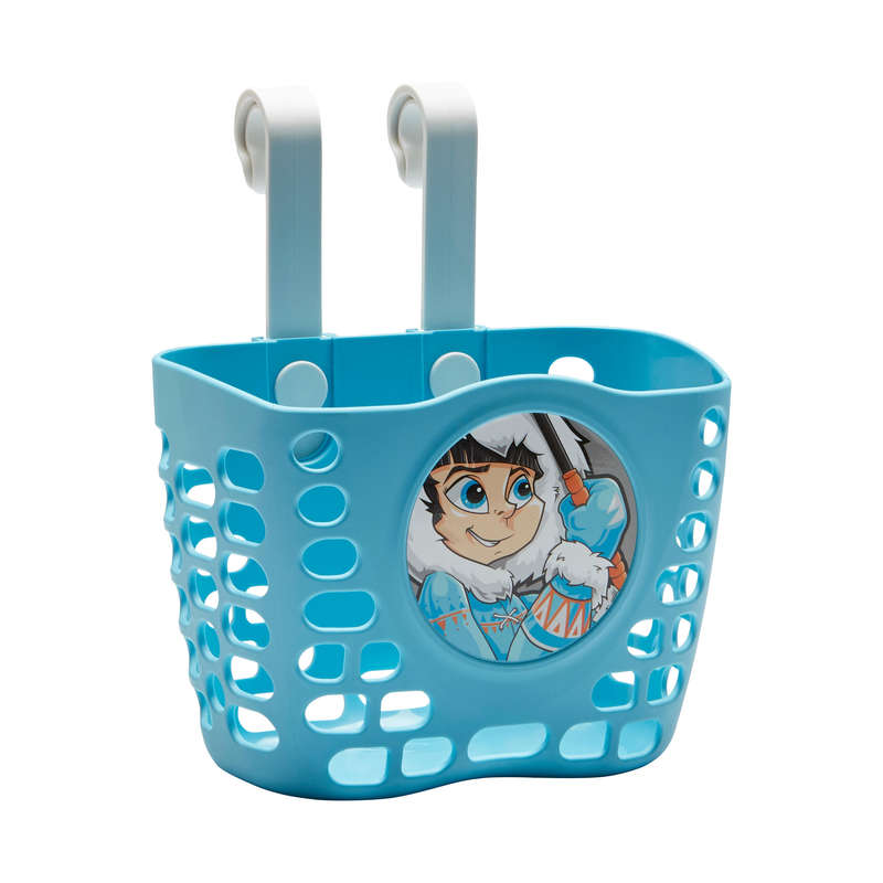 KIDS LEARNING BIKE ACCESSORIES 1-6 YEARS Cycling - Kids' Bike Basket - Blue B'TWIN - Cycling
