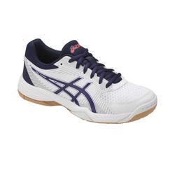 Zapatillas de Voleibol Asics Gel Task mujer blanco azul