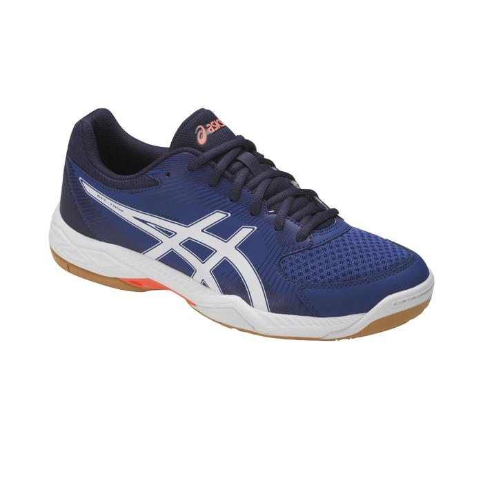 Chaussures de volley-ball homme Gel Task bleues et blanches Asics