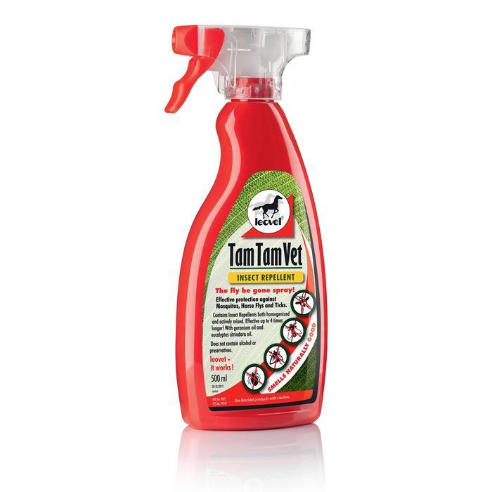 Repelente Insectos Equitación TAM TAM VET 500 ml Caballo y Poni