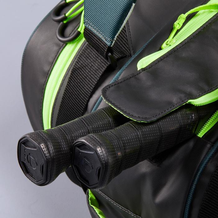Sporttas racketsporten 530 S zwart/kaki