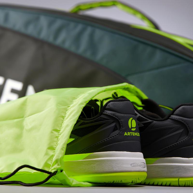 Racket Sports Bag 530 - Black/Khaki