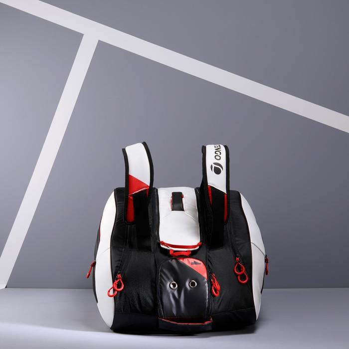 Tennistasche 960 L Schlägertasche schwarz/weiß/rot