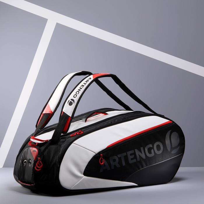 Tennistas Artengo 960 L zwart/wit/rood