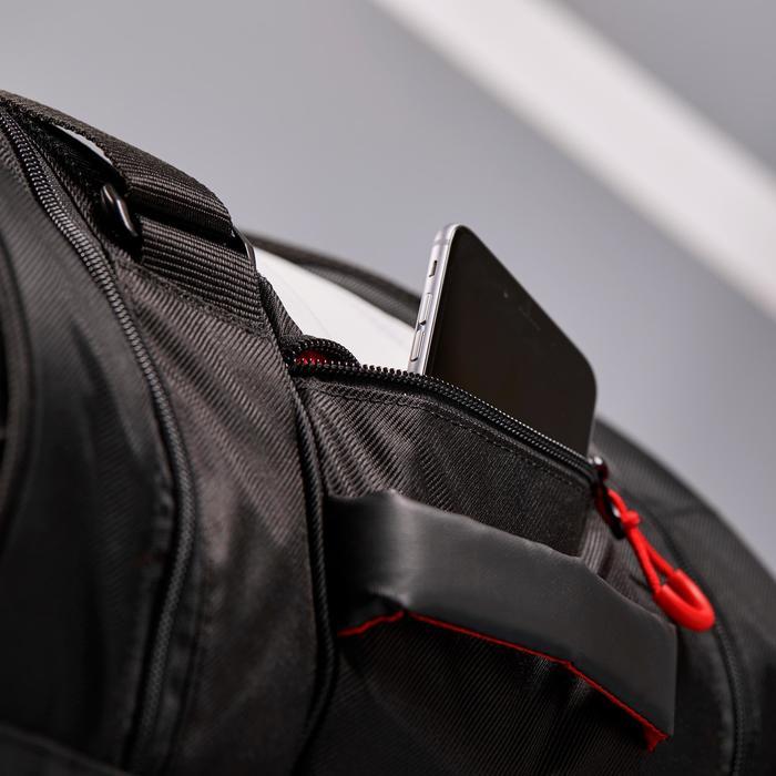 67f5b6094f2 Artengo Tas voor racketsporten Artengo 960 L zwart wit rood ...