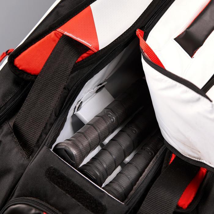 Tas voor racketsporten Artengo 960 L zwart wit rood