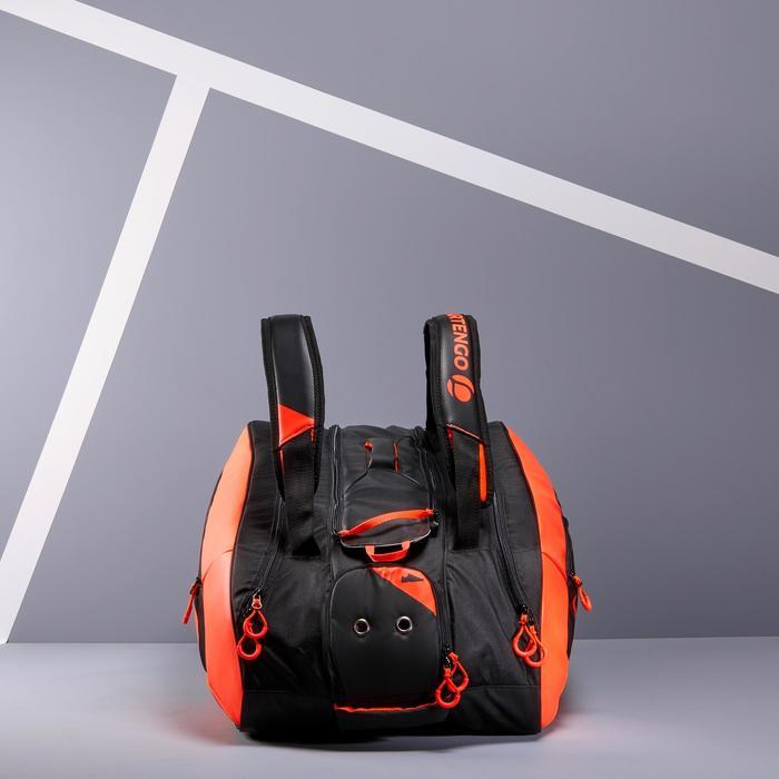 Tas voor racketsporten Artengo 960 L zwart oranje