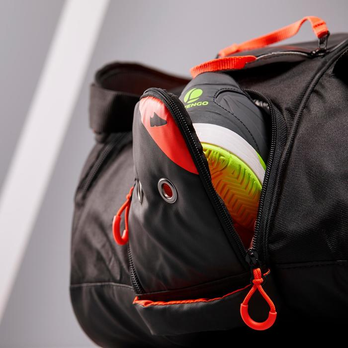 SAC SPORTS DE RAQUETTES ARTENGO 960 L NOIR ORANGE
