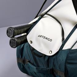 Tas voor racketsporten Artengo 500 S kaki wit