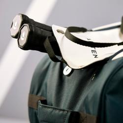Schlägertasche 500 S Artengo khaki/weiß