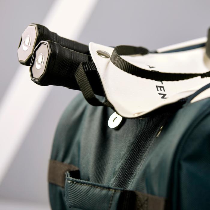Tennistasche 500 S Schlägertasche khaki/weiß