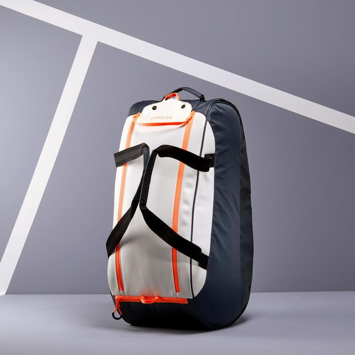 500 S Racket Sports Bag - Grey/White/Coral