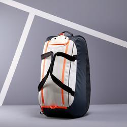 Tas voor racketsporten Artengo 500 S grijs wit koraal
