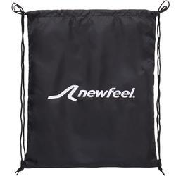 Opvouwbare tas voor wandelschoenen zwart