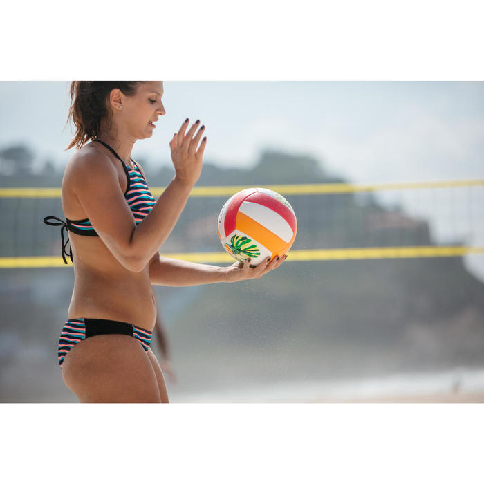 Beachvolleyball BV100 Toucan rosa