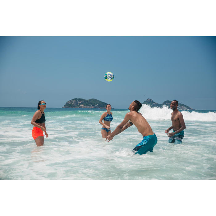 Balón Vóley Playa Copaya BV100 Amarillo Verde