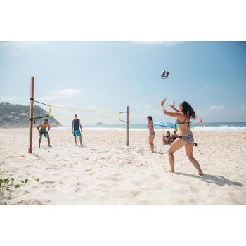 Ballon de beach-volley BV100 bleu et rose