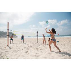 Volleyball- und Beachvolleyballnetz BV100 WIZ NET gelb