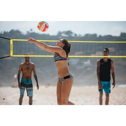 Beachvolleybalnet BV100 Wiz Net geel