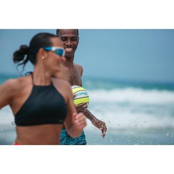 Bal voor beachvolleybal BV100 geel/groen