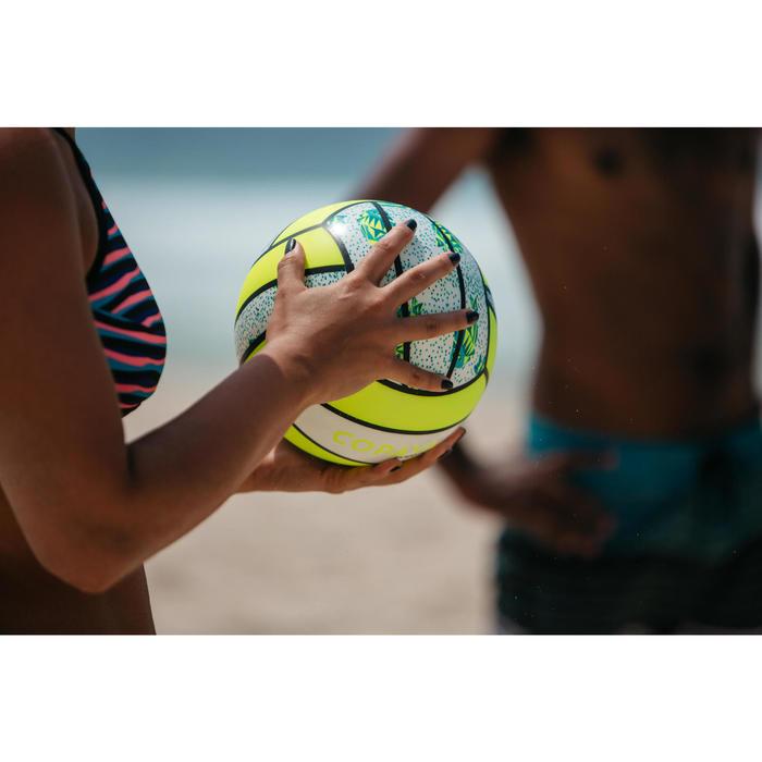 Balón Vóley Playa Copaya BV100 Blanco Amarillo
