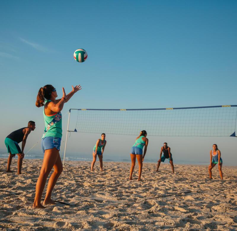 como escolher a rede de voleibol de praia?
