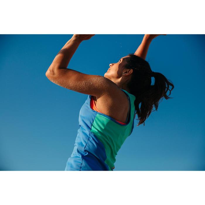 Beachvolleybal shirt BV500 dames blauw