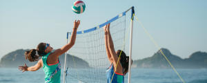 comment monter son filet de beach-volley BV500?