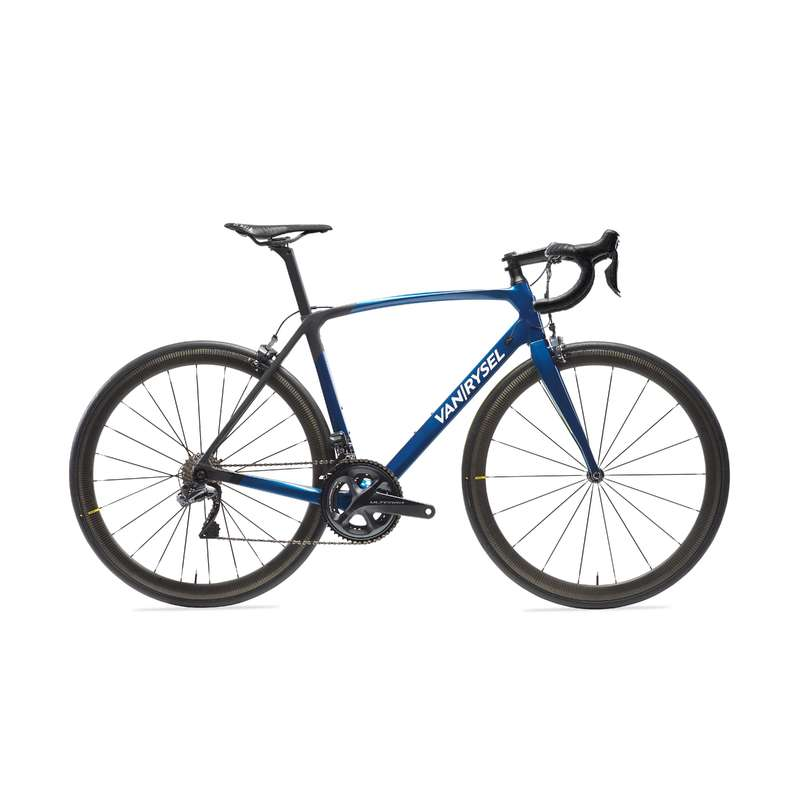 ROAD RACING BIKES Cycling - RR 940 Carbon Road Bike Blue - Ultegra Di2 VAN RYSEL - Bikes