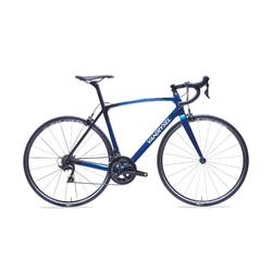 RACEFIETS / WIELRENFIETS ULTRA 900 CARBON FRAME SHIMANO 105 BLAUW