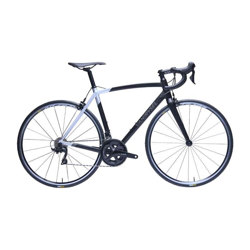 ROAD RACING BIKES - RR 900 AF Road Bike Black - 105 VAN RYSEL