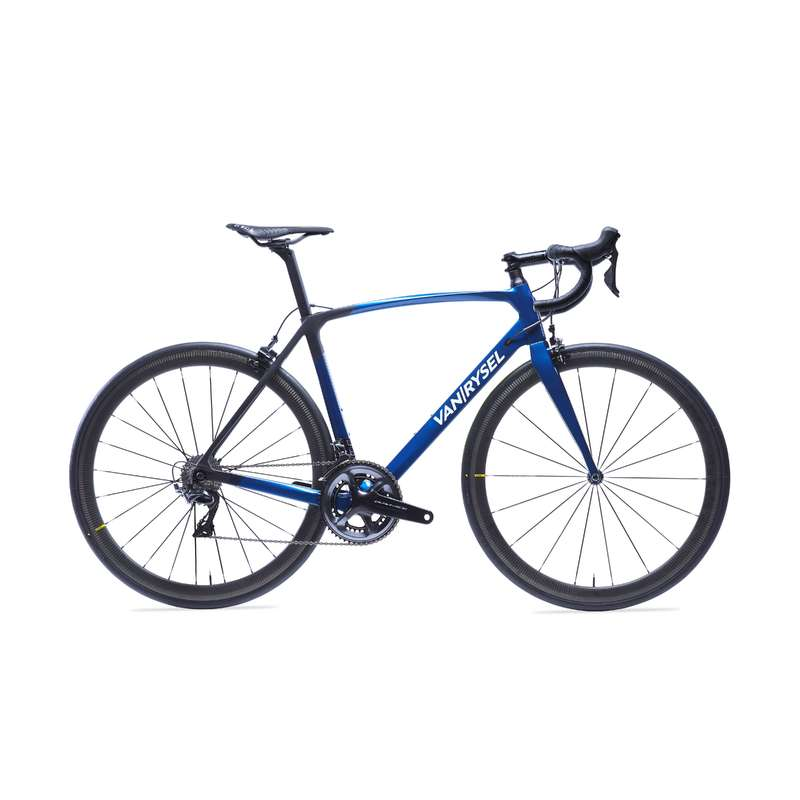 ROAD RACING BIKES Cycling - RR 940 CF Carbon Road Bike Blue - Dura-Ace VAN RYSEL - Bikes