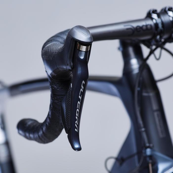 Racefiets / wielrenfiets Ultra Carbon frame Shimano Ultegra Di2 zwart/wit