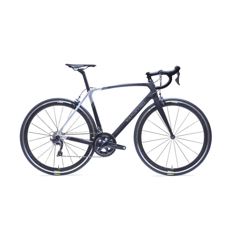 ROAD RACING BIKES Cycling - RR 920 CF Carbon Road Bike Black - Ultegra  VAN RYSEL - Bikes
