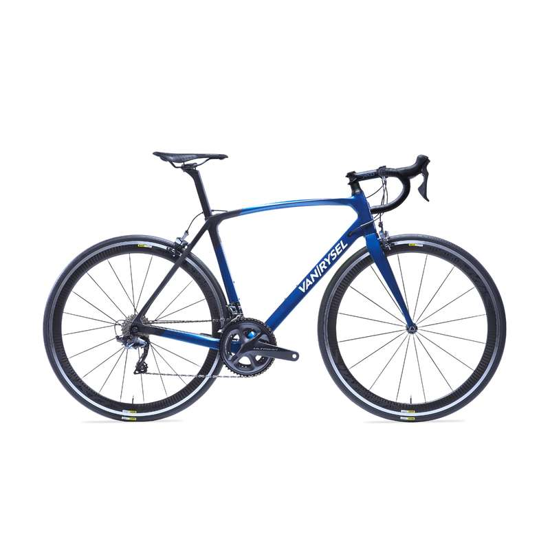 ROAD RACING BIKES Cycling - RR 920 CF Carbon Road Bike Blue - Ultegra VAN RYSEL - Bikes