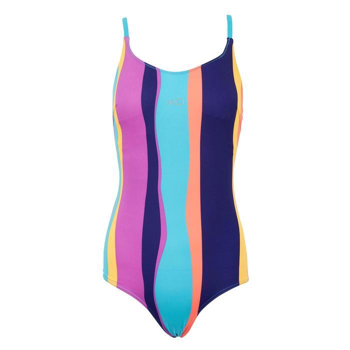 Riana Women's One-Piece Swimsuit Reci Purple