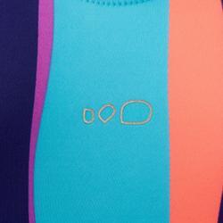 女款單件式連身泳裝Riana - Reci紫色