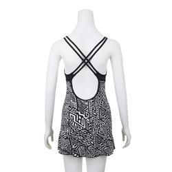 Riana Women's One-Piece Dress Swimsuit Mao Black