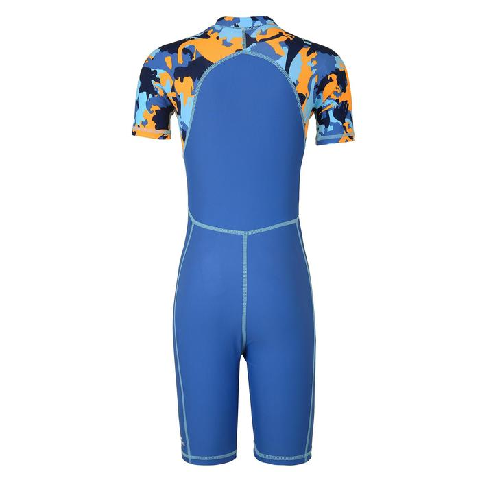 Boys' Swimsuit ShortySwim 100 - All Dino Yellow