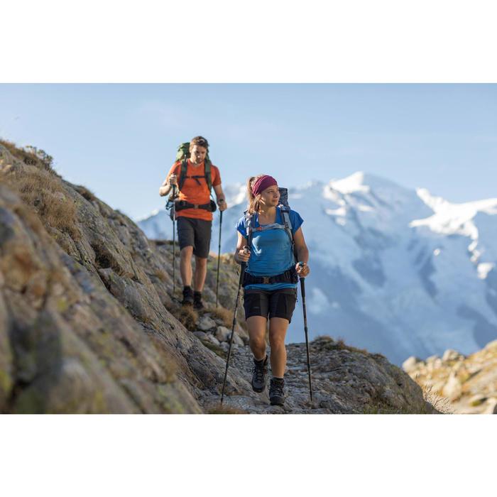 Trekkingshorts Trek 500 Herren dunkelgrau