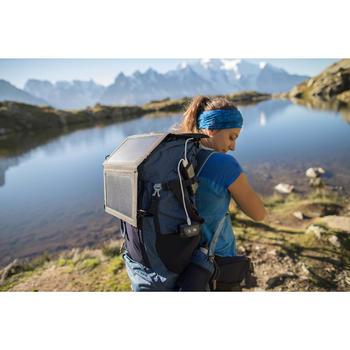 Trekking Head Torch 200 Lumens Rechargeable USB Trek500 - Black