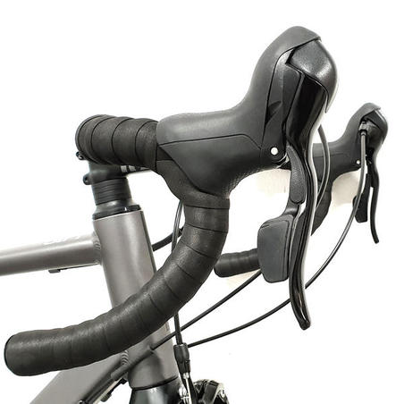 Men's Bicycle Touring Road Bike RC120 - Abyss Grey