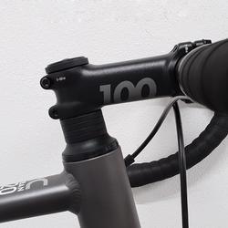 Racefiets / wielrenfiets RC 120 grijs Abyss