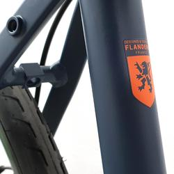 Racefiets / wielrenfiets RC120 Microshift met schijfremmen donkerblauw