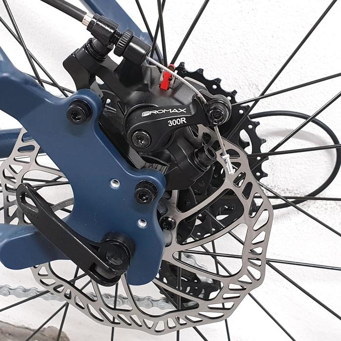 Racefiets / wielrenfiets Triban RC 120 Microshift met schijfremmen