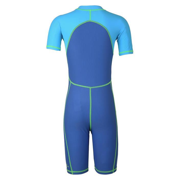 Boys' Swimming Shorty Suit ShortySwim 100 - Blue Green
