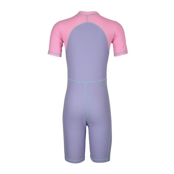 Girl's Swim Shorty - Purple Pink